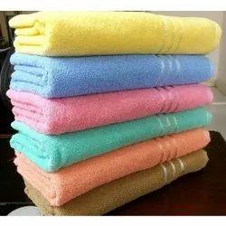 Samarth Textiles 30 x 60 Inch Plain Cotton Terry Towel, Rectangle, 350 GSM