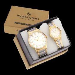 Be Invaders Analog Premium Pair Wrist Watch