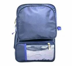 Polyester Plain Double Decker Travel Bag, For Casual Backpack