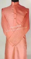 Resham Brocade Kurta Pajama