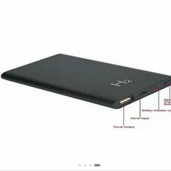 Black 1080P Power Bank SPY Camera, For Security