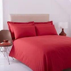 Maroon Satin Bed Sheet