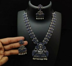 Maa Laxmi Pendant Designer Necklace