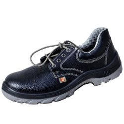 Zain ZM16Double Density PU Leather Safety / Industrial Shoes