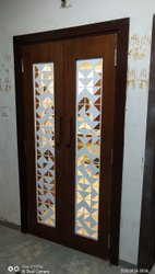 Wooden Security Door Safety Doors, For Residential
