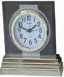 Analog Plastic Sky Max Table Clock, Shape: Rectangular, Size: Height X Width 12 Mm X 15 Mm