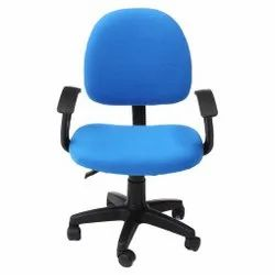 Blue Revolving Office Chair
