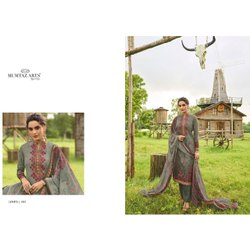 Mumtaz Arts Cotton Pakistani Karachi Lawn Suits, Dry clean