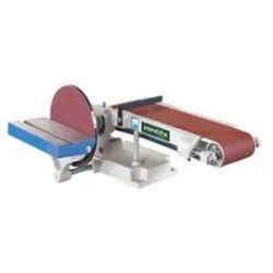 Belt And Disc Sander Machine