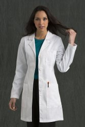 White Lab Coat, For Hospital, Machine Wash
