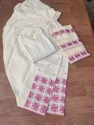 Cotton Patiala Dress Phulkari Salwar Dupatta With Kurtis