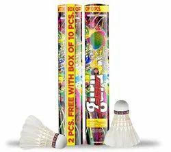 LaserGuru Badminton Shuttlecock