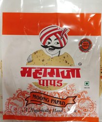 200 Gm - 500 Gm Moong Papad, Packaging Type: Packet