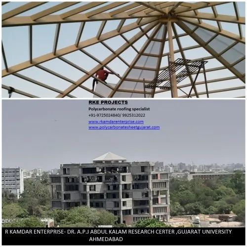 Institutional Polycarbonate Sheet Roofing Service