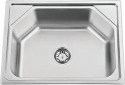 Square Silver Nirali Stainless Steel Sinks