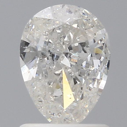 Pear 1ct H SI2 IGI Certified Natural Diamond