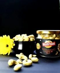 Nutrozi Roasted Salted Cashew Nut, Packaging Size: 150gm, Packaging Type: Jar