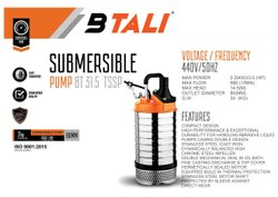 Submersible Pump Btali Btali Bt 31.5 Tssp