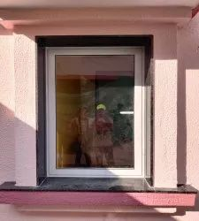 Paint Coated Aluminium Window, For Home, Size/Dimension: 3 Feet