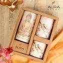 AuraDecor Buddha Printed Pillar Candles