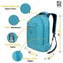 EUME Sapphire Nylon 20 Ltrs Massager Laptop Backpack With 2 USB Port For Unisex