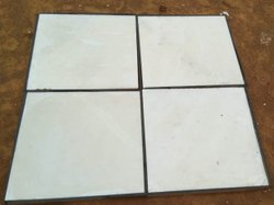 White Marble Tiles, Application Area: Flooring, Thickness: 16 mm
