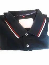 Half Sleeve Plain Mens Cotton Polo T Shirt, Size: XXL