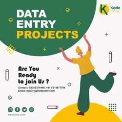 11 Data Entry Project, Service Provider