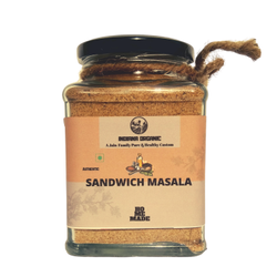 150 gm Indiana Organic Sandwich Masala Powder, Glass Jar