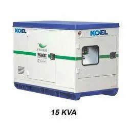 15 KVA Kirloskar Diesel Generator