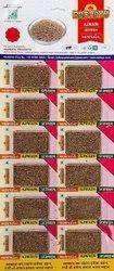Brown Ajwain Seed, 12 Pack Per Sheet