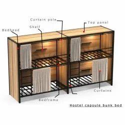 Capsule bunk bed