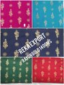 Golden Rayon Print Fabric