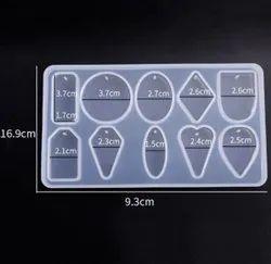 Silicone Pendant Mold - 10 Cavities - URP051-RM
