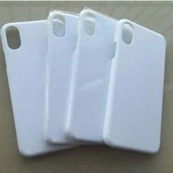Plastic White 3D Sublimation Blank Mobile Cover