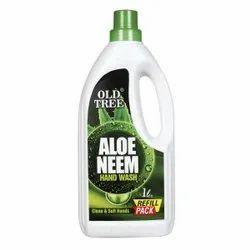 Old Tree Liquid Aloe Neem Hand Wash, Packaging Size: Custom