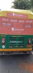 Outdoor rexine Auto Rickshaw Branding, in Pan India, Mode Of Advertising: OOH