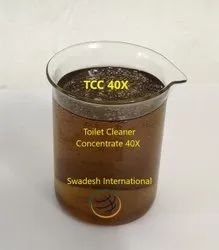 Swadesh Toilet Cleaner Concentrate 40X, Packaging Size: 50 Kg