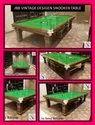 JBB Vintage Design Snooker Table