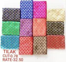 Tilak Jacquard Blouse Fabric