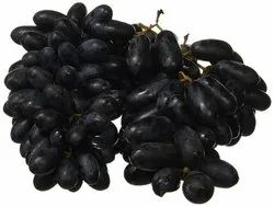 A Grade Fresh Black Grapes, Packaging Size: 10 Kg, Packaging Type: Crate