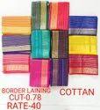 Border Lainning Cotton Fabric