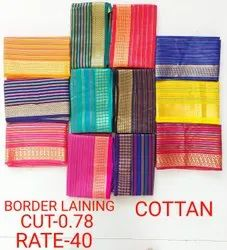 Border Lainning Cotton Fabric