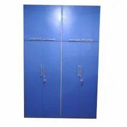 Modular Bedroom Wardrobe Blue Glossy