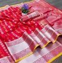 Soft Lichi Silk Saree Jacquard