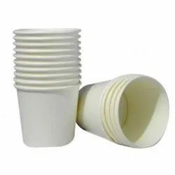 Plain White Paper Cup, For Parties, Capacity: 55 ml