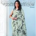 Digital Print Crepe With Style Fabric