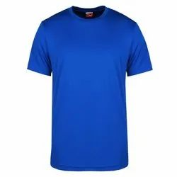 Blue Round Neck T Shirts, Size: S to XL
