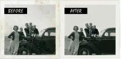 Photo Retouching & Restoration Service