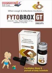 Ambroxol HCl 7.5mg  Terbutaline Sulphate 0.25mg Guaiphenesin 12.5mg P. Drop
